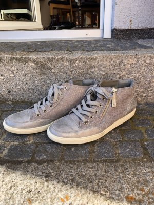 Silberne Paul Green Schuhe