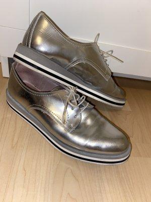 Silberne Schuhe Tamaris, Größe: 39