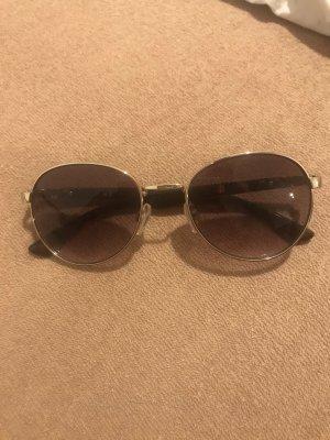 Silberne Sonnenbrille Leomuster