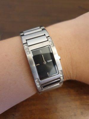 Tchibo / TCM Analog Watch silver-colored
