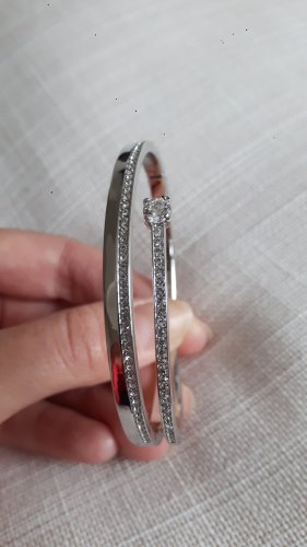Mouwband zilver