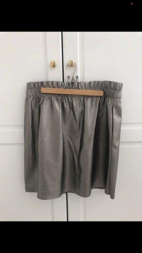 Only Spódnica w kształcie tulipana srebrny-antracyt