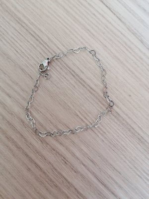 New One Silver Bracelet silver-colored