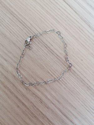 New One Bracelet en argent argenté