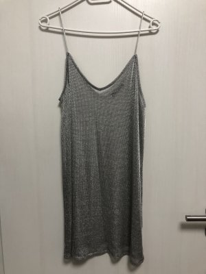 Silbernes Kleid von Zara