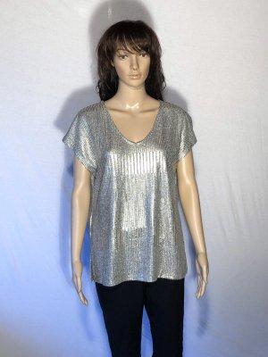 Silbernes T-Shirt