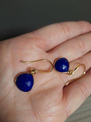 Dangle gold-colored-blue