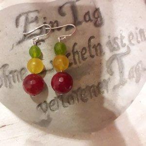 Pendientes colgante multicolor