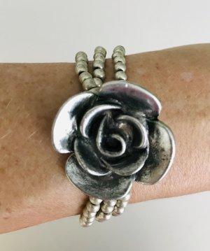Armband met parels zilver Metaal
