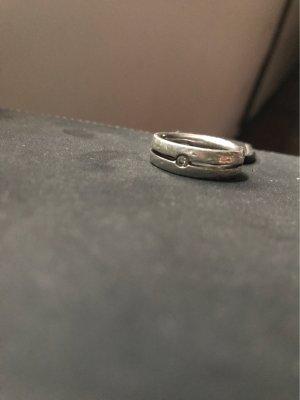 Fossil Zilveren ring zilver