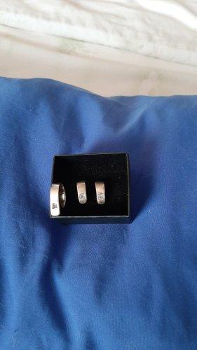 silberring 925 und Ohrringe/ Set