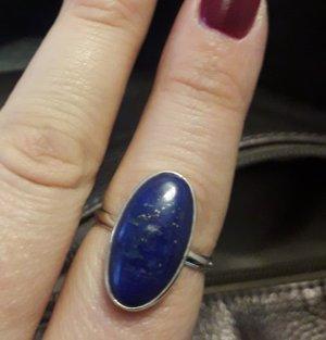 Zilveren ring veelkleurig Zilver