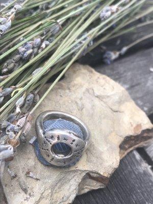 Silberring mit Loch von Esprit - Modeschmuck