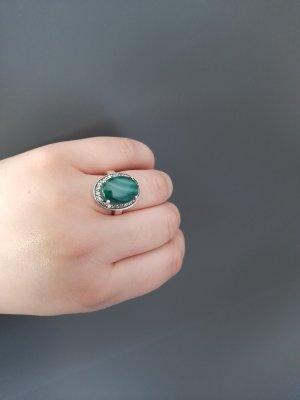 Srebrny pierścionek Wielokolorowy