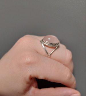 Anillo de plata color plata-rosa