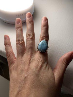 Silberring mit Türkisen Stein