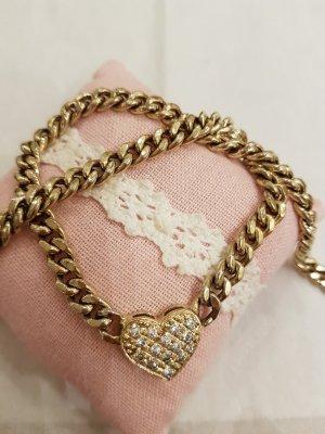 Silbervergoldet  Halskette