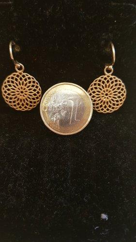 Silbervergoldet  Ohrringe