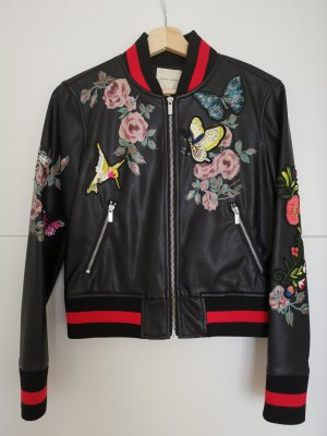 'Silence + Noise' faux leather jacket