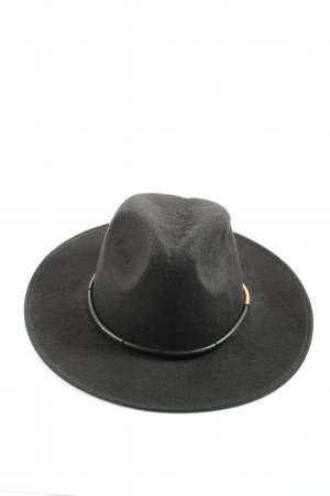 Silence + Noise Panama Hat black-gold-colored casual look
