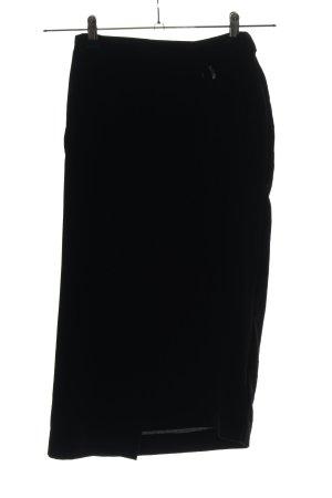 Silence + Noise Wraparound Skirt black business style