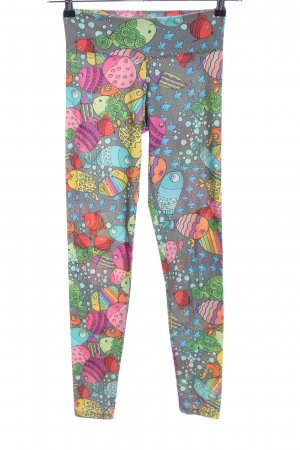 Silence Of The Bees Leggings Allover-Druck Casual-Look