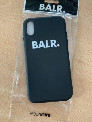 BALR. Custodia per cellulare nero-bianco
