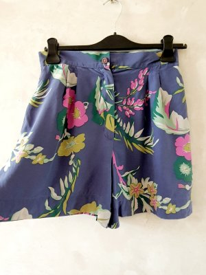 Vintage High-Waist-Shorts multicolored