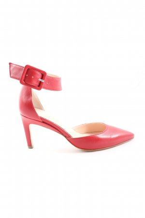 Silko High Heel Sandaletten rot Business-Look