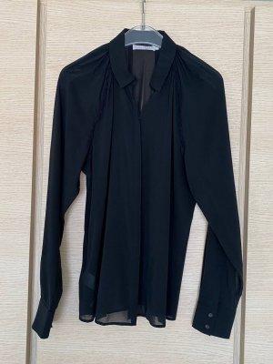 Stefanel Blouse en soie noir