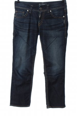 Silver Jeans 7/8 bleu style décontracté