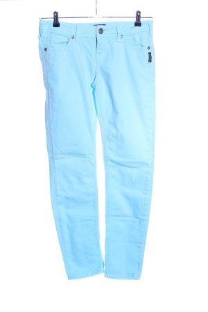Silver Five-Pocket-Hose blau Casual-Look