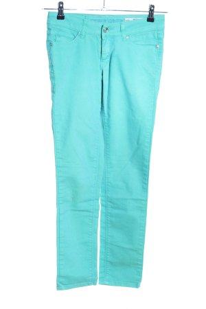 Silver Greek Skinny Jeans türkis Elegant