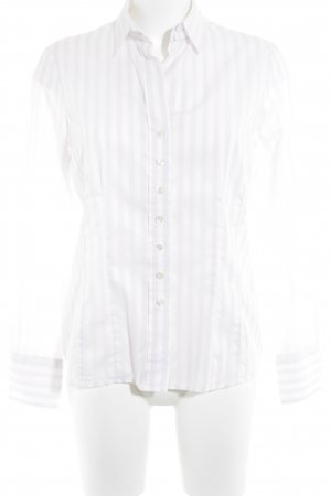 Silver Hemd-Bluse hellrosa Streifenmuster Casual-Look