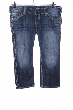 Silver Jeans Jeans a 3/4 blu stile casual