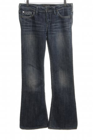 Silver Jeans Boot Cut Jeans blau Casual-Look