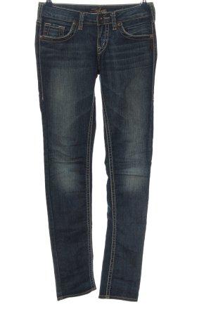 Silver Jeans Hüftjeans blau Casual-Look