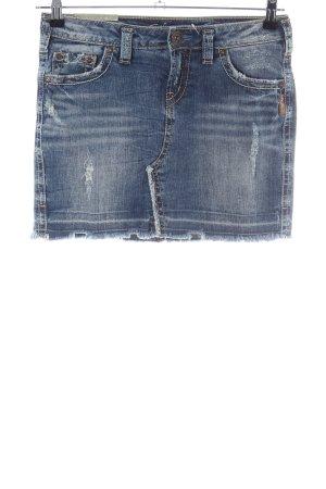 Silver Jeans Jeansrock blau Casual-Look