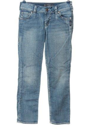 Silver Jeans Röhrenjeans blau Casual-Look