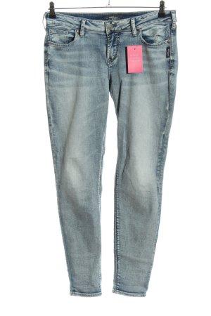 Silver Jeans Jeans cigarette bleu style décontracté