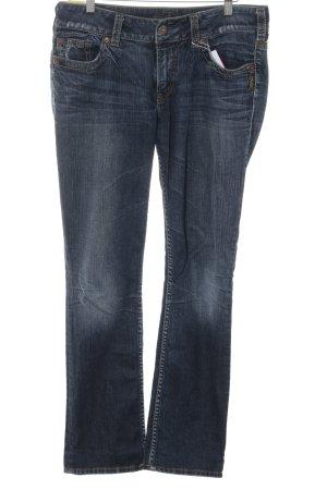 Silver Jeans Slim Jeans dunkelblau Casual-Look