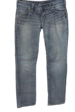 Silver Jeans Straight-Leg Jeans blau Casual-Look