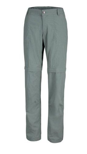 Columbia Spodnie sportowe szaro-zielony Nylon