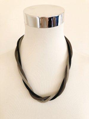 Silver schwarze Kette