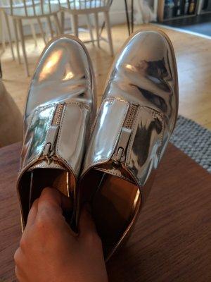 Zara Monks white-silver-colored