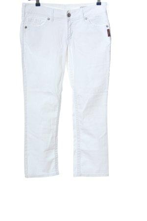 Silver Slim Jeans weiß Casual-Look