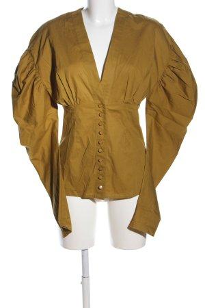Silvia Tcherassi Long Sleeve Blouse brown elegant