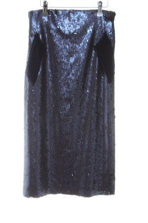 Silvia Tcherassi Midi Skirt dark violet elegant