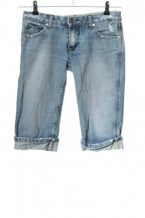 Silvian heach Shorts blau Casual-Look