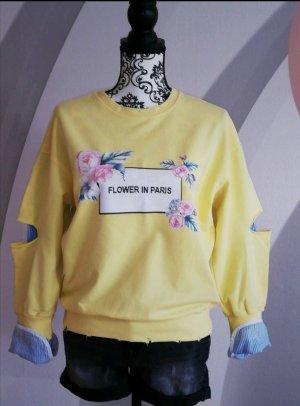 Silvian heach Sweatshirt jaune